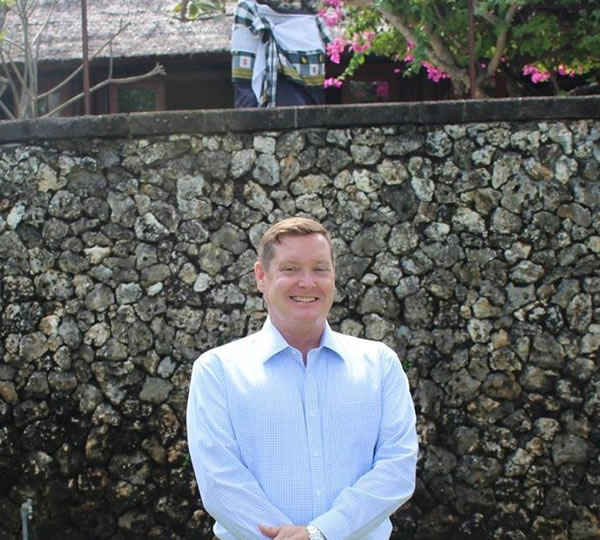 Mr John Halpin General Manager at The Oberoi, Bali